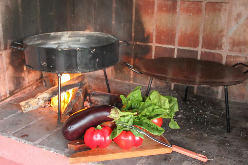 Cocinar al disco de arado